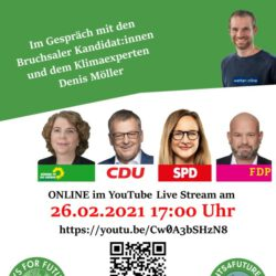 Podiumsdiskussion mit Fridays for Future