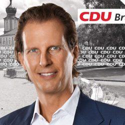 Olav Gutting auf Informationstour in Bruchsal